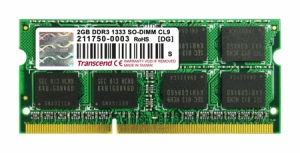 Transcend 2GB SO-DIMM DDR3