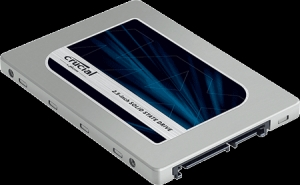 Crucial CT1000MX200SSD1, 1TB Crucial MX200 SATA 2.5-inch 7mm (with 9.5mm...