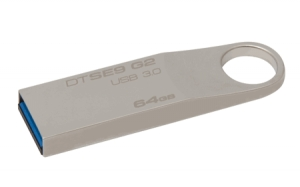 Kingston DTSE9G2/64GB, 64GB USB 3.0 DataTraveler SE9 G2 (Metal) 100MB/s read...
