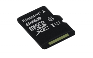 Kingston SDC10G2/64GBSP microSDXC 64GB