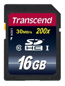 Transcend TS16GSDHC10 SDHC 16GB Class10