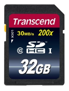 Transcend TS32GSDHC10 SDHC 32GB Class10