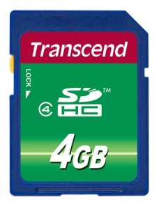 Transcend TS4GSDHC4 SDHC 4GB Class 4