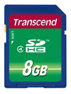 Transcend TS8GSDHC4 SDHC 8GB Class 4