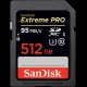 512GB SDXC Card Sandisk Extreme Pro 95MB/s SDSDXPA-512G-G46