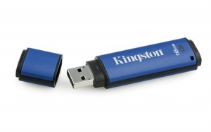 Kingston DTVP30DM/16GB, 16GB USB 3.0 DTVP30 256bit AES FIPS 197 (Management Ready)