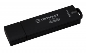 Kingston IKD300M/128GB, 128GB IronKey D300 Managed Encrypted USB 3.0 FIPS Level 3