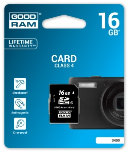 GoodRam S400-0160R11, 16GB CARD cl 4