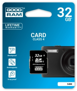 GoodRam S400-0320R11, 32GB CARD cl 4