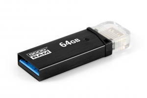 GoodRam OTN3-0640K0R11, 64GB OTN3 BLACK USB 3.0