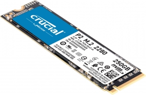 CrucialCT250P2SSD8, Crucial P2 250GB 3D NAND NVMe PCIe M.2 SSD