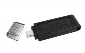 KingstonDT70/64GB, 64GB USB-C 3.2 Gen 1 DataTraveler 70