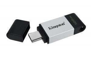KingstonDT80/128GB, 128GB USB-C 3.2 Gen 1 DataTraveler 80