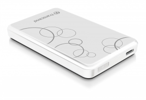 TranscendTS1TSJ25A3W, 1TB StoreJet 2.5-inch A3W, Portable HDD