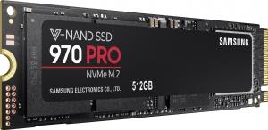 Samsung512GB SSD Samsung 970 PRO M.2 NVMe (MZ-V7P512BW)