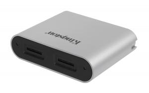 KingstonWFS-SDC, USB3.2 Gen1 Workflow Dual-Slot microSDHC/SDXC UHS-II Card Reader