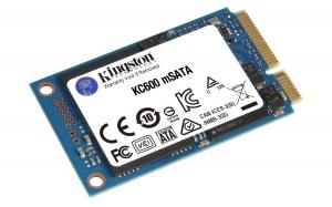 KingstonSKC600MS/512G, 512G SSD KC600 SATA3 mSATA