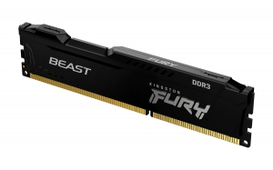 Kingston Fury8GB DIMM DDR3 1600 MHz