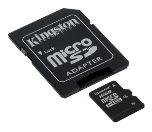 KingstonSDC4/16GB microSDHC 16GB Class 4
