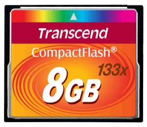 TranscendTS8GCF133 8GB