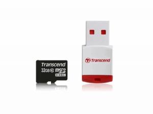 TranscendTS32GUSDHC10P3 microSDHC10 32GB