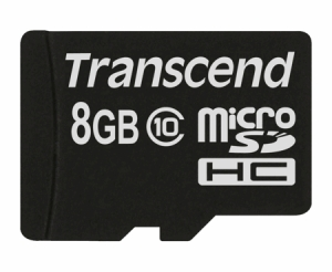 TranscendTS8GUSDC10 micro SDHC10 8GB