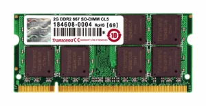 Transcend 2GB SO-DIMM DDR2