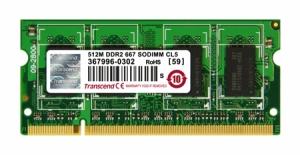 Transcend512MB SO-DIMM DDR2