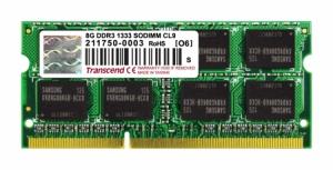 Transcend8GB SO-DIMM DDR3