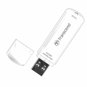 TranscendTS16GJF620, 16GB, JF620, MLC, USB2.0, White