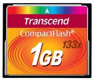 TranscendTS1GCF133 1GB
