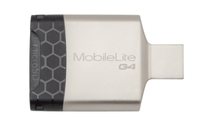 Kingston FCRMLG4, MobileLite G4 USB 3.0 Multi-card Reader (microSDHC/SDHC/SDXC)
