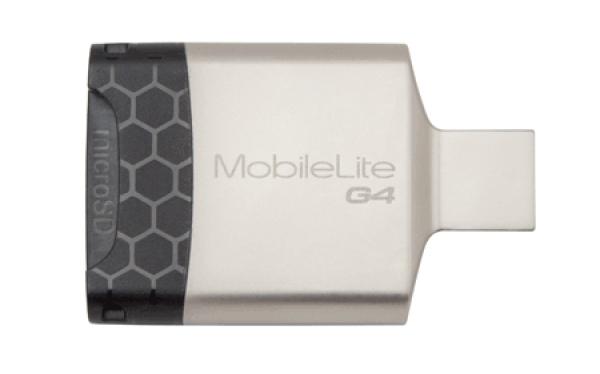 FCR-MLG4, MobileLite G4 USB 3.0 Multi-card Reader (microSDHC/SDHC/SDXC)