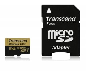 TranscendTS64GUSDU3 microSDHC 64GB