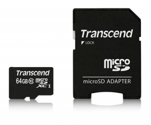 TranscendTS64GUSDXC10 microSDXC 64GB Class 10