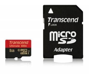 TranscendTS8GUSDHC10U1 microSDHC 8GB Class10