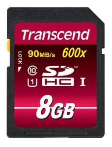 TranscendTS8GSDHC10U1 SDHC 8GB Class10