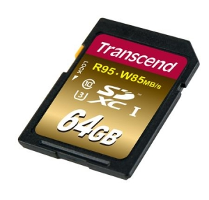 TranscendTS64GSDU3X SDXC 64GB