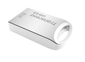 TranscendTS8GJF510S, 8GB JetFlash 510, Silver Plating