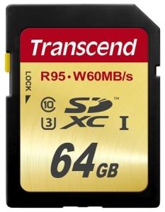 TranscendTS64GSDU3 SDXC 64GB
