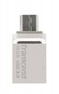 TranscendTS16GJF880S, 16GB JetFlash 880, Silver Plating, OTG