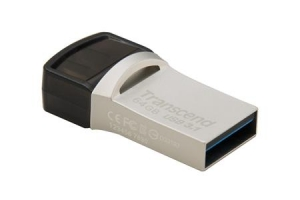 TranscendTS64GJF890S, 64GB, JF890, OTG, USB3.0, Silver