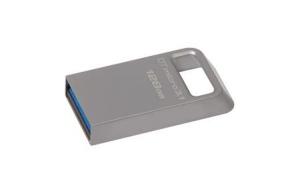 KingstonDTMC3/128GB, 128GB DTMicro USB 3.1/3.0 Type-A metal ultra-compact drive