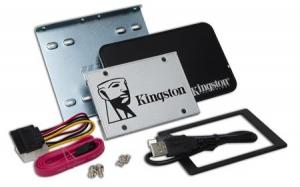 KingstonSUV400S3B7A/480G, 480GB SSDNow UV400 SATA 3 2.5 (7mm height) Upgrade...