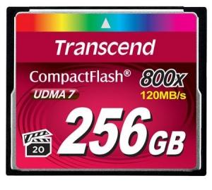 TranscendTS256GCF800 256GB