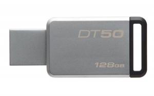 KingstonDT50/128GB, 128GB USB 3.0 DataTraveler 50 (Metal/Black)