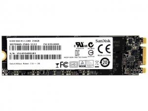 Sandisk256GB SSD Sandisk X300s M.2 SATA 2280 intern SD7UN3Q-256G-1122