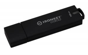 KingstonIKD300/16GB, 16GB IronKey D300 Encrypted USB 3.0 FIPS Level 3