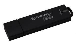 KingstonIKD300M/64GB, 64GB IronKey D300 Managed Encrypted USB 3.0 FIPS Level 3