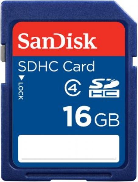 16GB SDHC Sandisk Class 4 SDSDB-016G-B35